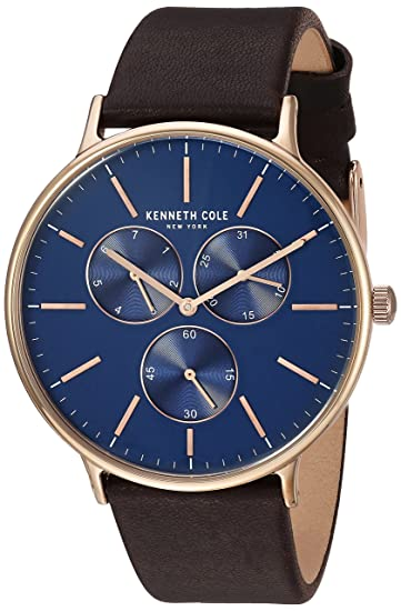 Kenneth Cole Analogue Blue Dial Men's Watch -Kc14946005 Men at amazon