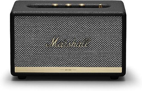 Marshall Acton II Black Bluetooth Speaker