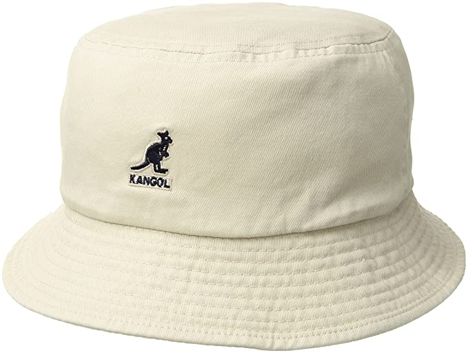 Kangol Mens Standard Washed Cotton Bucket Hat  Amazon.ca  Clothing ... 7d2d2a3e67e