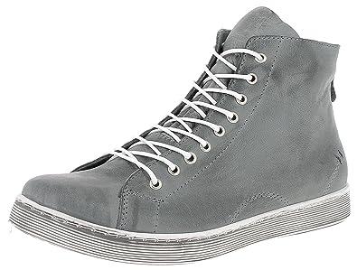 buy popular 9e4ff d4bf8 Andrea Conti 0341500 Schuhe Damen Halbschuhe Sneaker High Top