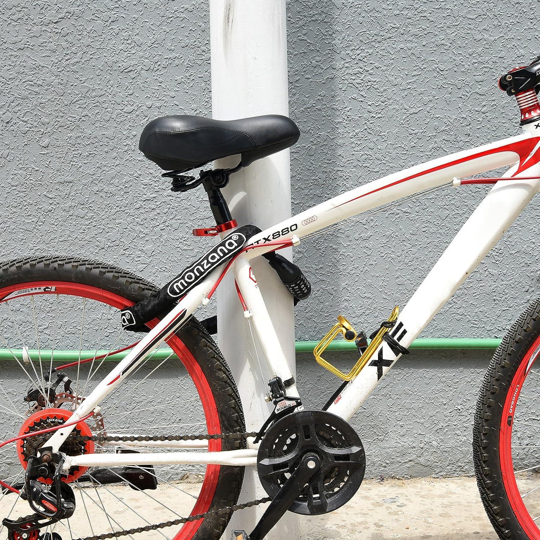 90 cm Stahlkettenglied Fahrradschloss Zahlen Kettenschloss Fahrrad f/ür Fahrr/äd und Motorrad Fahrradschloss mit Zahlencode Fahrradschloss Lavvio Zahlenschloss Fahrrad und Hoher Sicherheitsstufe