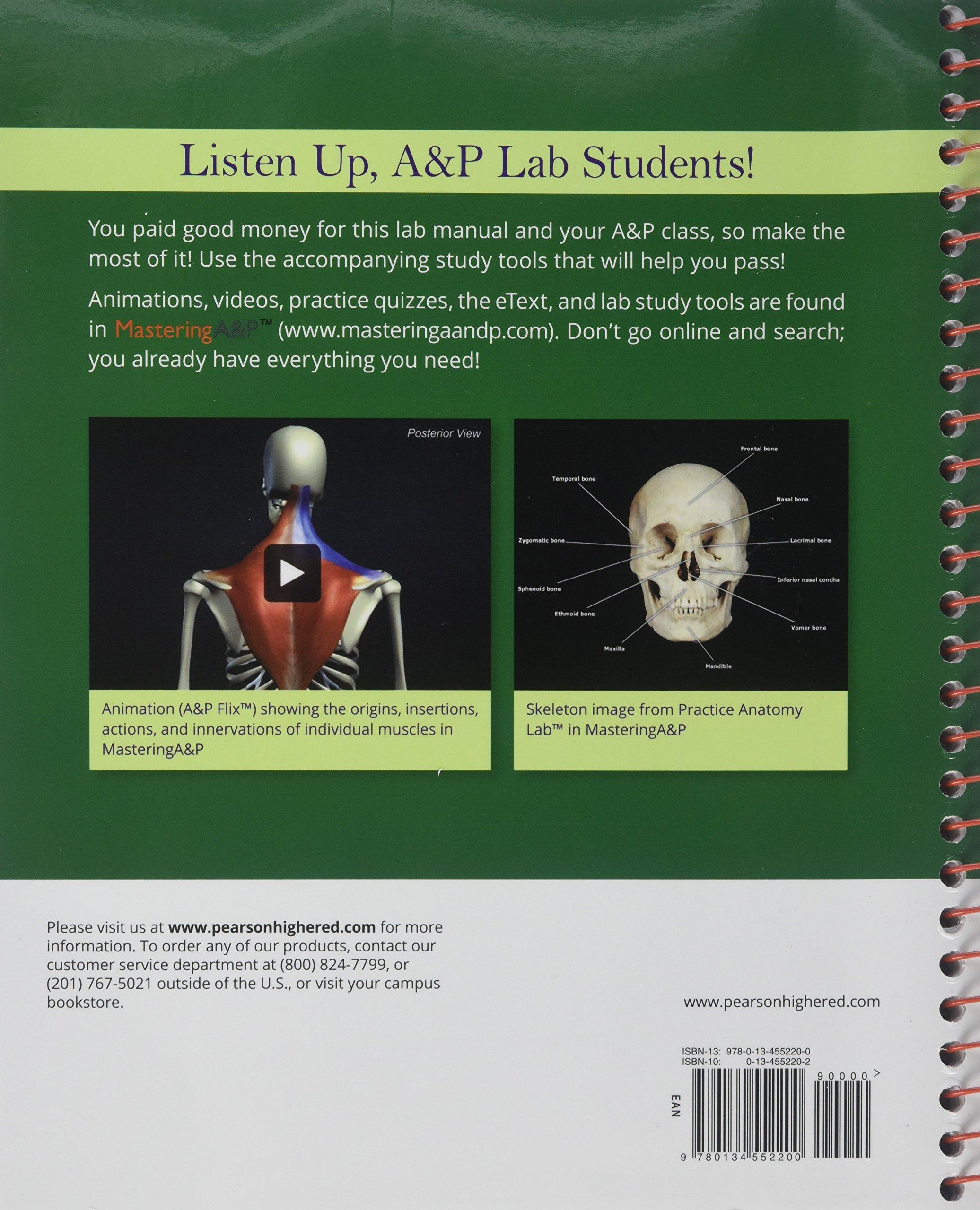Visual Anatomy & Physiology Lab Manual, Main Version (2nd Edition ...