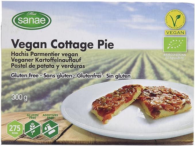 Menú Sanae Pastel de Patata y Verduras - 4 Paquetes de 300 gr - Total:
