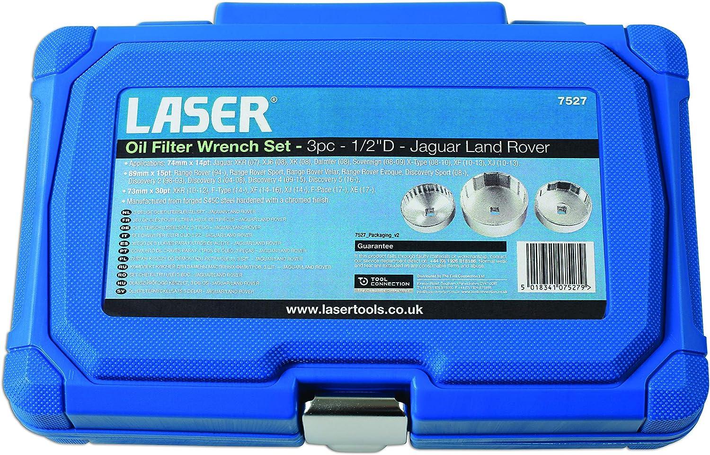 Laser 7527 /Ölfilterschl/üssel-Set Jaguar//Land Rover 3 St/ück