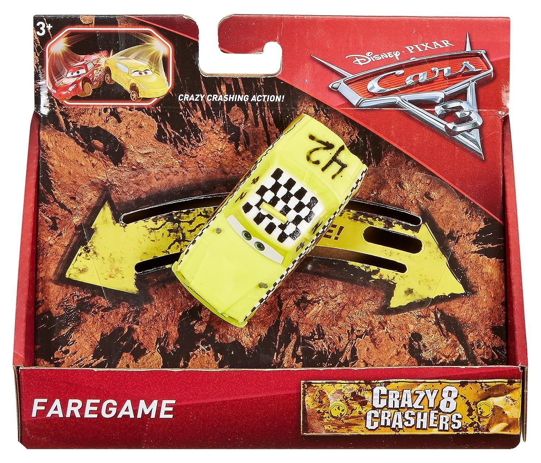 Mattel Spain DYB10 Coche Crazy Cig Alert Cars 3