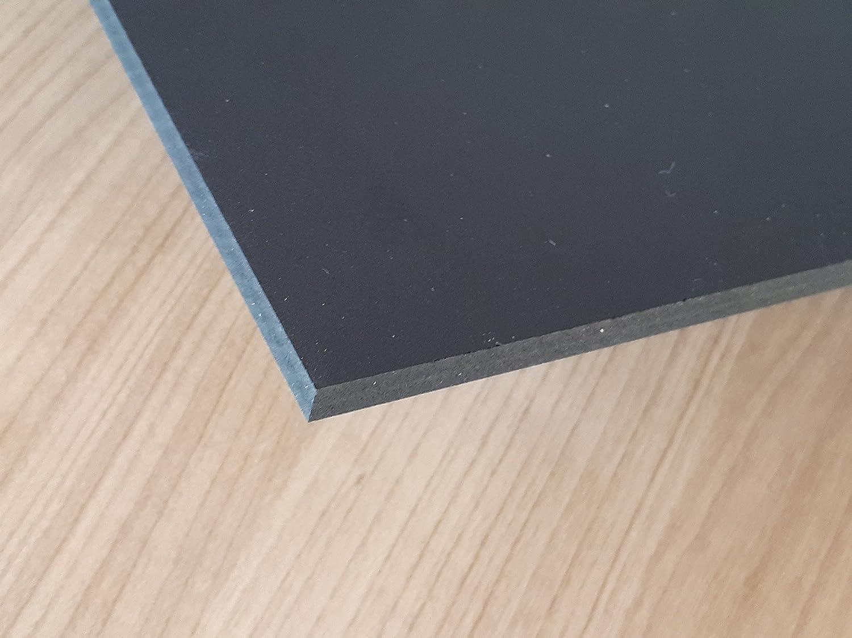 1000 x 1000 x 2 mm schwarz Zuschnitt Delrin alt-intech/® Platte aus POM