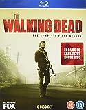 The Walking Dead - Season 5 with Bonus Disc (Amazon.co.uk Exclusive Limited Edition) [Blu-ray] [2015] [Reino Unido]