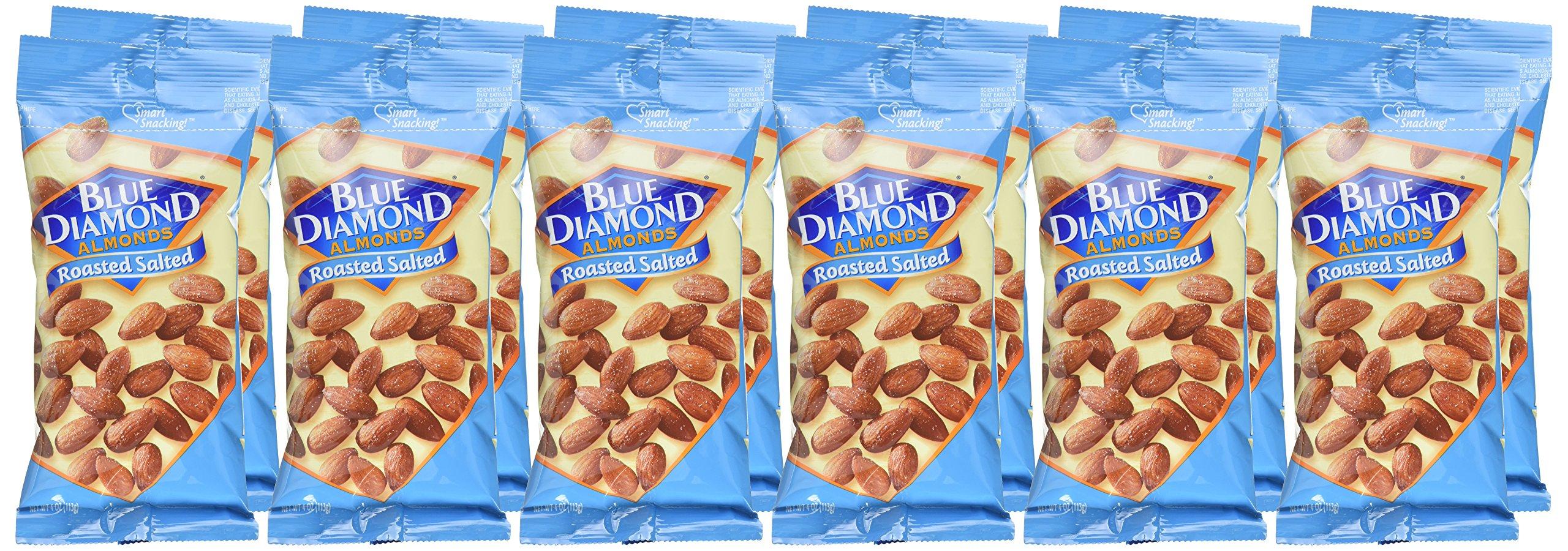 Blue Diamond Almonds, Roasted Salted, 4 oz, 12 Count by Blue Diamond Almonds (Image #2)