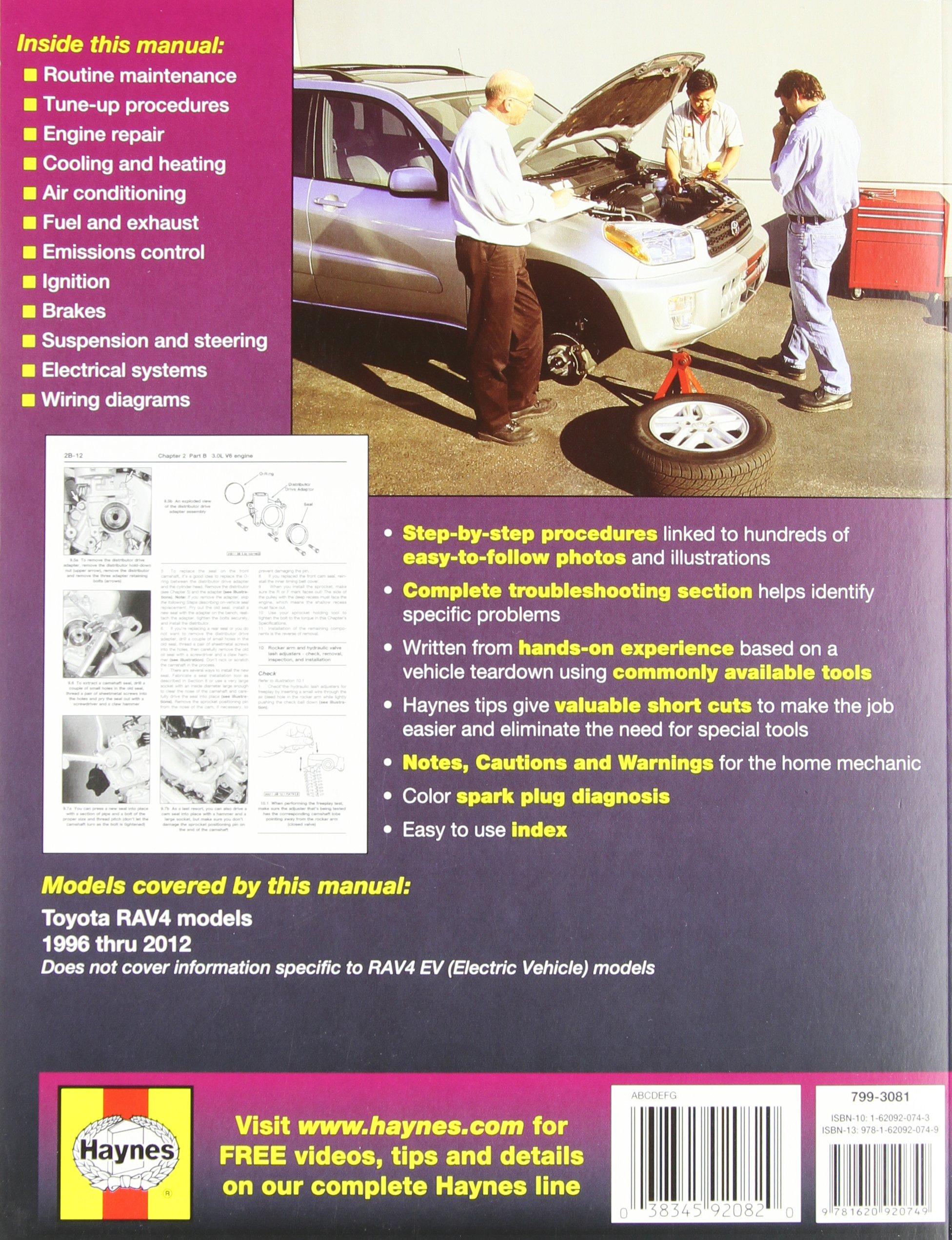 Toyota RAV4 Service Manual: Identification information