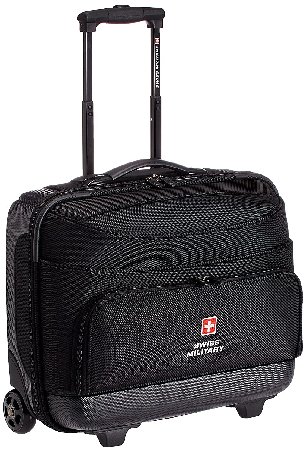 6746c7431 Swiss Military 45 Ltrs Black Laptop Trolley Bag (LTB-2): Amazon.in ...