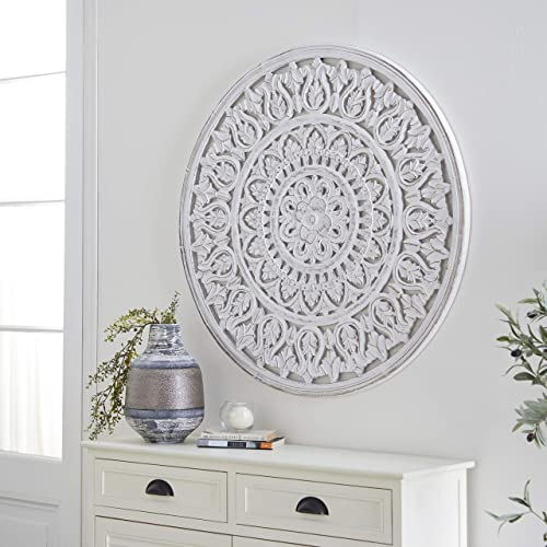 Deco 79 66187 Wooden Wall Panel