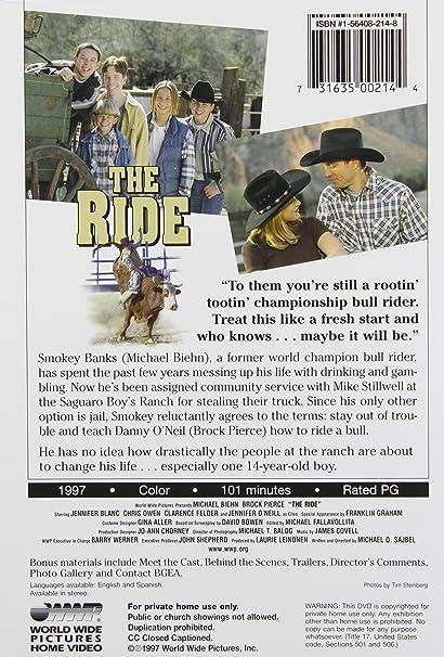 Ride [DVD] [1997] [Region 1] [US Import] [NTSC]: Amazon co