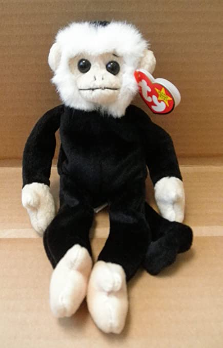 6033fb702a2 Amazon.com  TY Beanie Babies Mooch the Spider Monkey Stuffed Animal ...