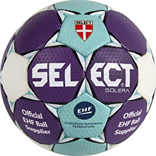 Select Pallone da Pallamano Solera, Blu/Bianco/Viola, 1, 1630850209