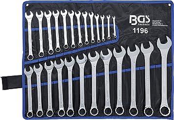 BGS 1192 Maulringschlüssel-Satz Set Werkzeug KFZ Maulring 8-tlg 6-19 mm