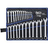 BGS 1196 Kombinationsnycklar, Silver, 6 - 32 mm, Paket med 25