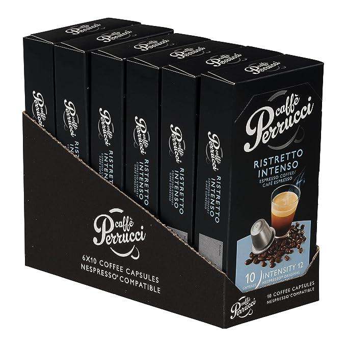 Caffe Perrucci, Cápsulas compatibles con Nespresso: Amazon ...