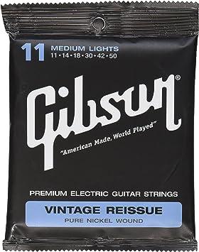 Gibson Gear tamaño mediano reedición Vintage cuerdas para guitarra eléctrica. ¡Envío gratis!