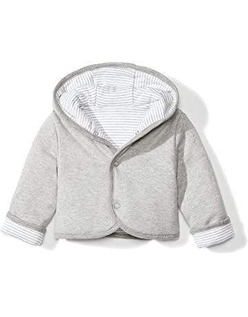3231f8356037 Moon and Back Baby Reversible Jacket with Hood