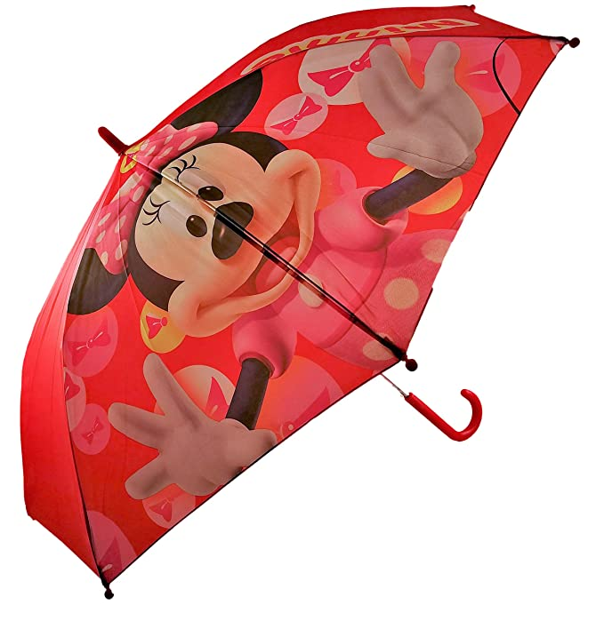 Paraguas Automatico Infantil Minnie para niñas 48 cm: Amazon.es: Equipaje