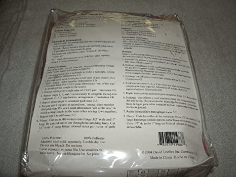 Amazon.com : Shaggy Quilt Blanket Kit 51