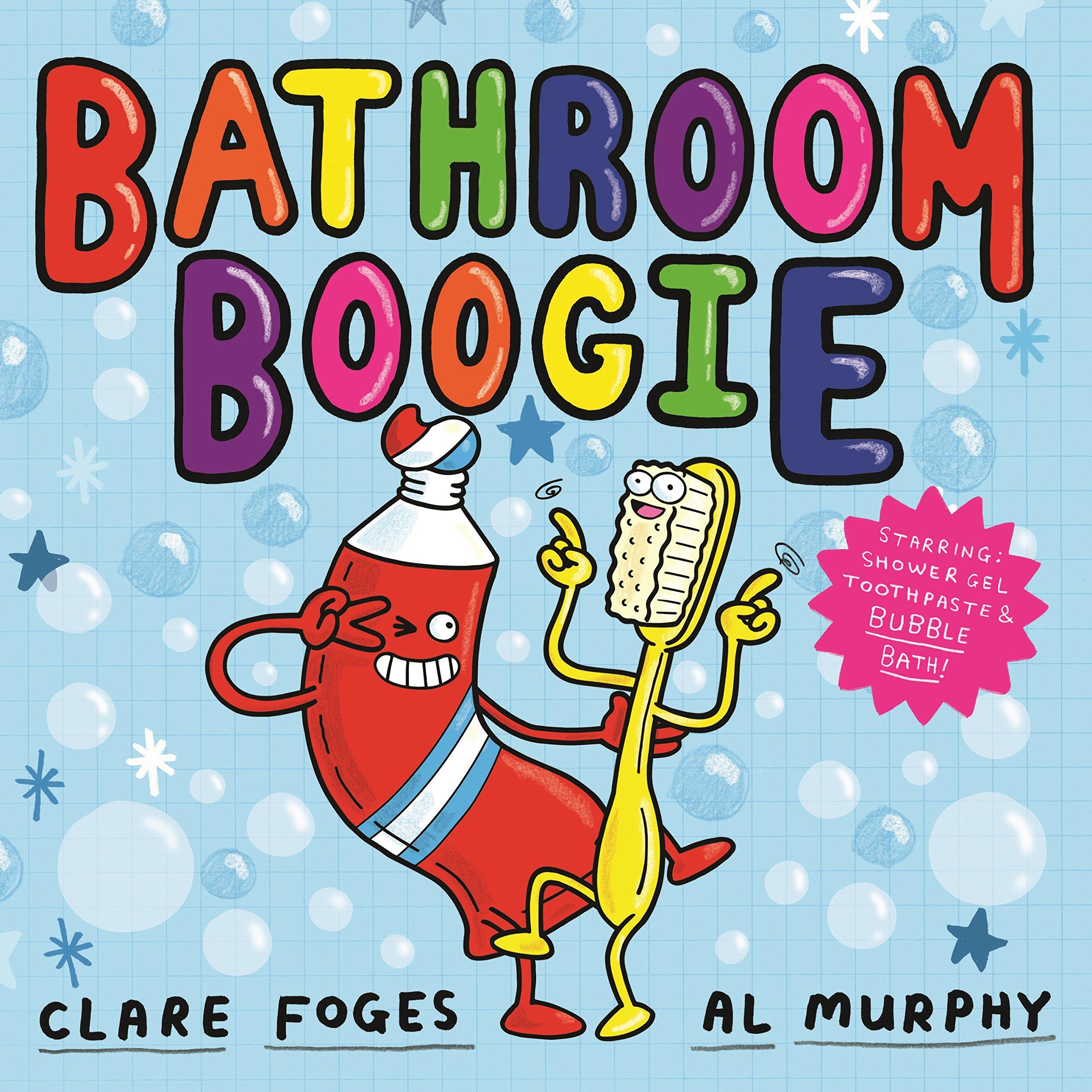 Bathroom Boogie (Kitchen Disco): Amazon.co.uk: Foges, Clare, Murphy, Al:  Books