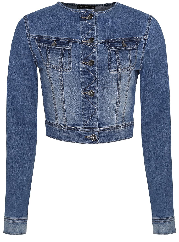 oodji Ultra Donna Giacca in Jeans Corta RIFICZECH s.r.o. 11109003-1