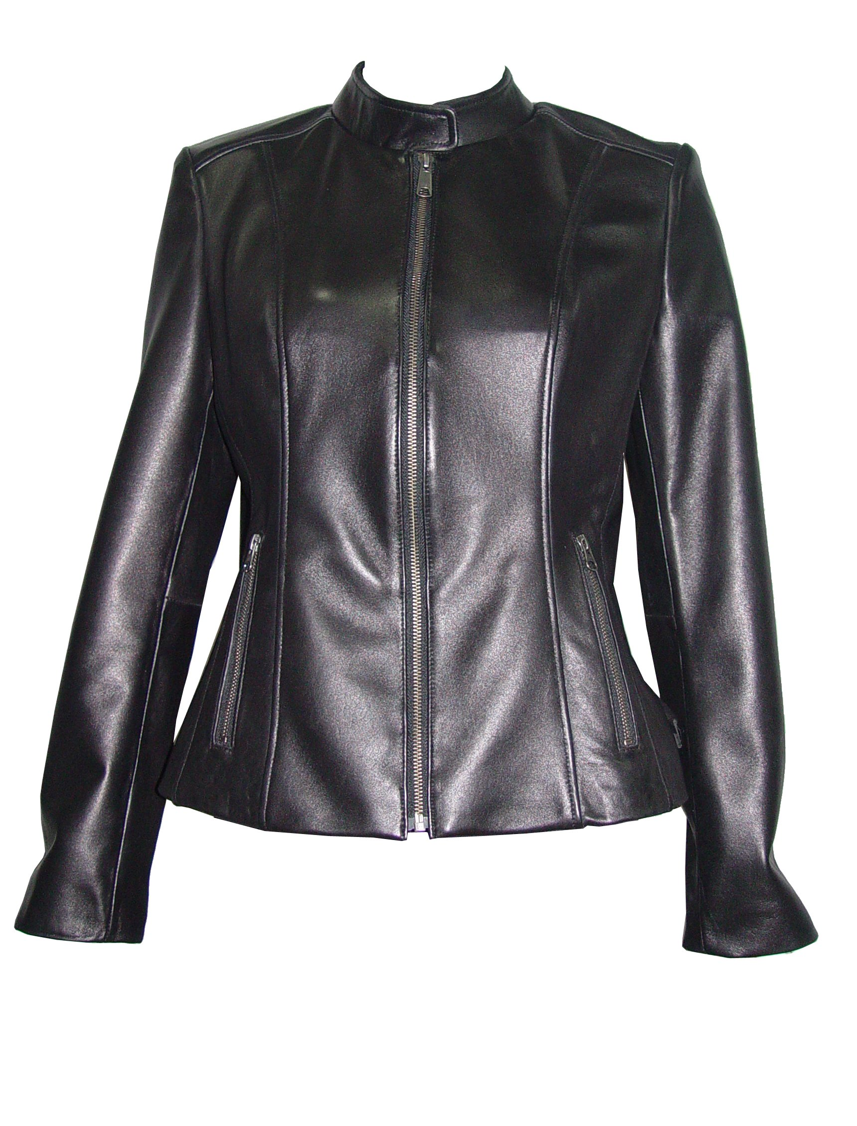 Nettailor 4062 Leather Moto Jackets Womens Fashion Soft Genuine Lamb