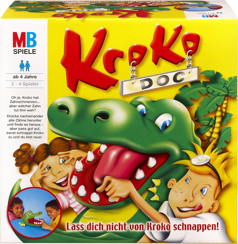 Hasbro MB 00016100 - Juego Kroko Doc (en alemán): Amazon.es ...