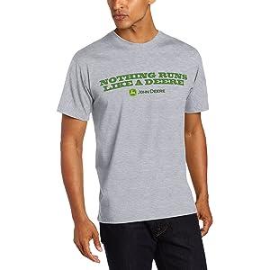 John Deere Mens I Love the Smell of Diesel in the Morning T-Shirt 13001721