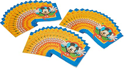 Mickey Mouse Playful Party Supplies Tableware, Balloons, Decorations, Napkins