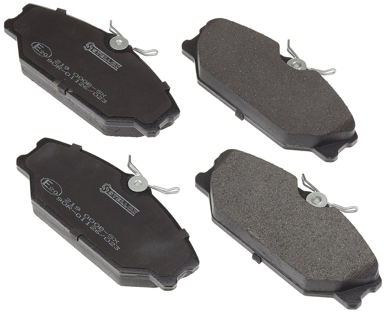 frein /à disque, stellox 219/000b de SX Motorcraft Kit de plaquettes de frein