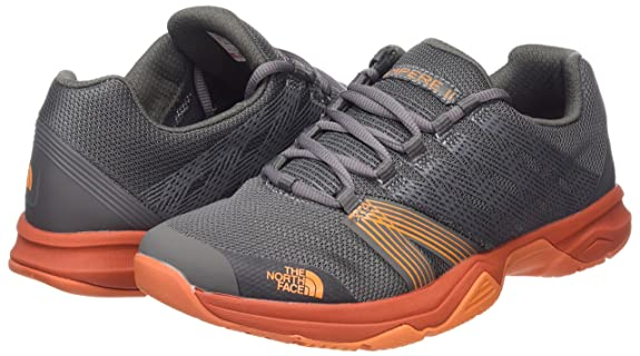 Amazon.com   The North Face Mens Litewave Ampere II Hiking Shoes (8.5 D(M) US, Dark Gull Grey/Exuberance)   Shoes
