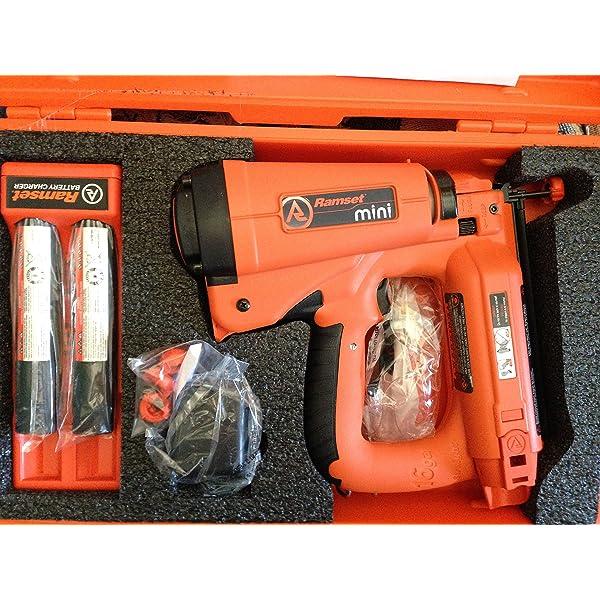 Amazon Com Ramset Powder Fastening Systems T3ss Single Shot Home Improvement