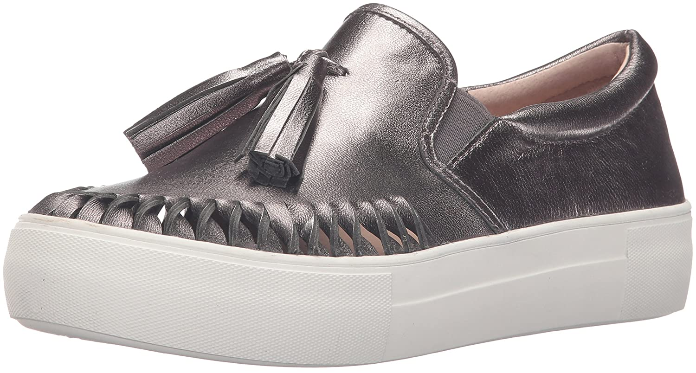 J Slides Women's Aztec Fashion Sneaker B01ITNEZ1Y 6.5 B(M) US|Pewter