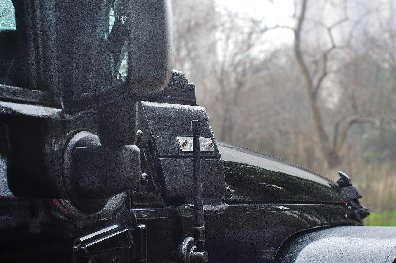 Designed for Optimized FM//AM Reception 2007-2019   7 inches Flexible Antenna Replacement Rydonair Antenna Compatible with Jeep Wrangler JK JKU JL JLU Rubicon Sahara Gladiator