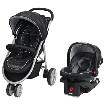 Graco Aire3 Travel System Stroller And Car Seat Gotham