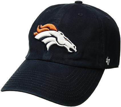 5918b67ba0f NFL Denver Broncos Clean Up Adjustable Hat