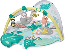 Skip Hop Tropical Paradise Baby Gym: Tummy Time Play Mat to Activity Gym with Portable Sloth Soother