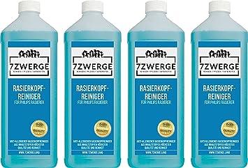 7Zwerge I Limpiador de cabezal I líquido limpiador para afeitadora eléctrica Philips I líquido de recarga I cartucho de limpieza I Estación de limpieza I Jet & Smart ...