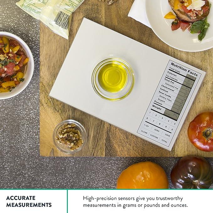 Amazon Digital Scale Silver Home Kitchen