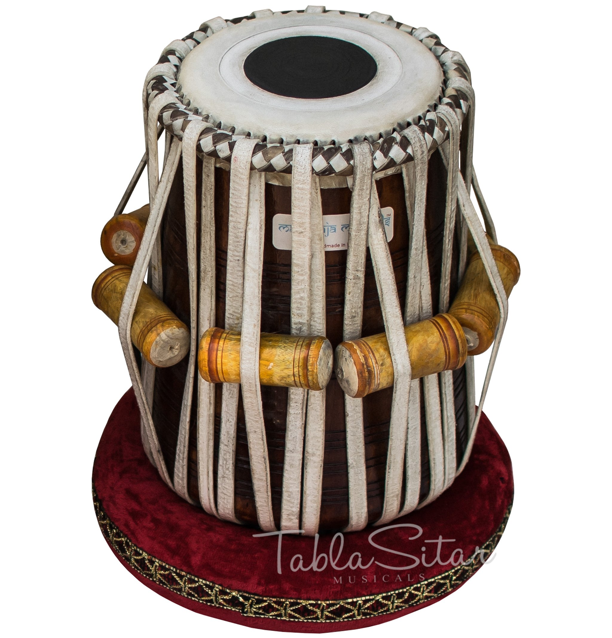 Maharaja Musicals Dayan Tabla, Sheesham Wood, Concert Quality, Tuneable To C Sharp (PDI-ACD) by Maharaja Musicals