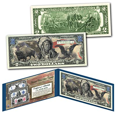 Americana Images of Historical U.S. Currency Collectible Art Two-Dollar Bill: Everything Else