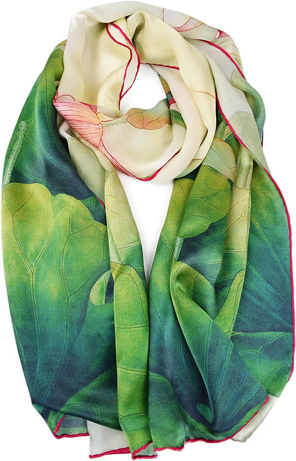 ELEGNA Women's Silk Flower...