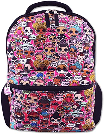 """LOL Surprise Doll Girl 18/"""" Carry-On Duffel Bag"""