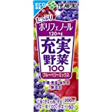 伊藤園 充実野菜 ブルーベリーミックス (紙パック) 200ml×24本