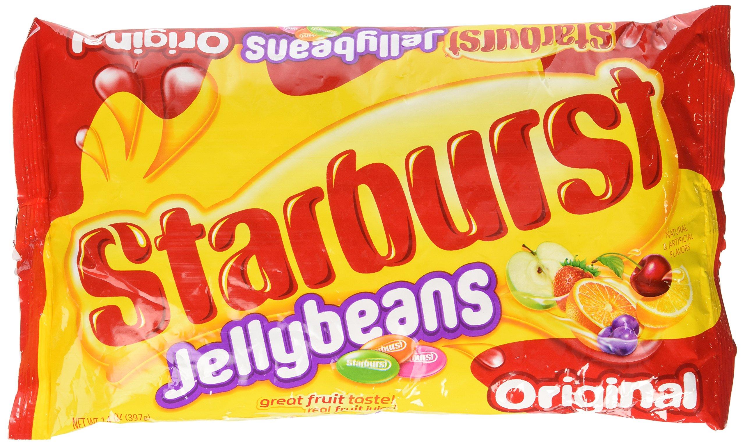 Starburst Jelly Beans, 14 OZ (Pack of 12)