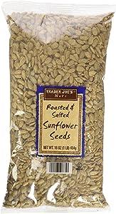 Trader Joe's Roasted & Salted Sunflower Seeds 16Oz