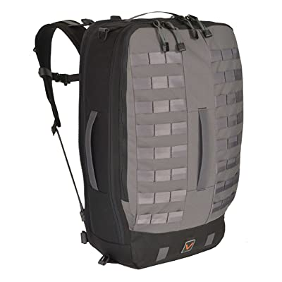 Velix Thrive 35 Convertible Travel Laptop backpack, Grey, Men's Large (VLX-THR35M-GRY-L)