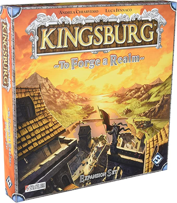Kingsburg: To Forge a Realm: Expansion Set: Chiarvesio, Andrea, Iennaco, Luca: Amazon.es: Juguetes y juegos
